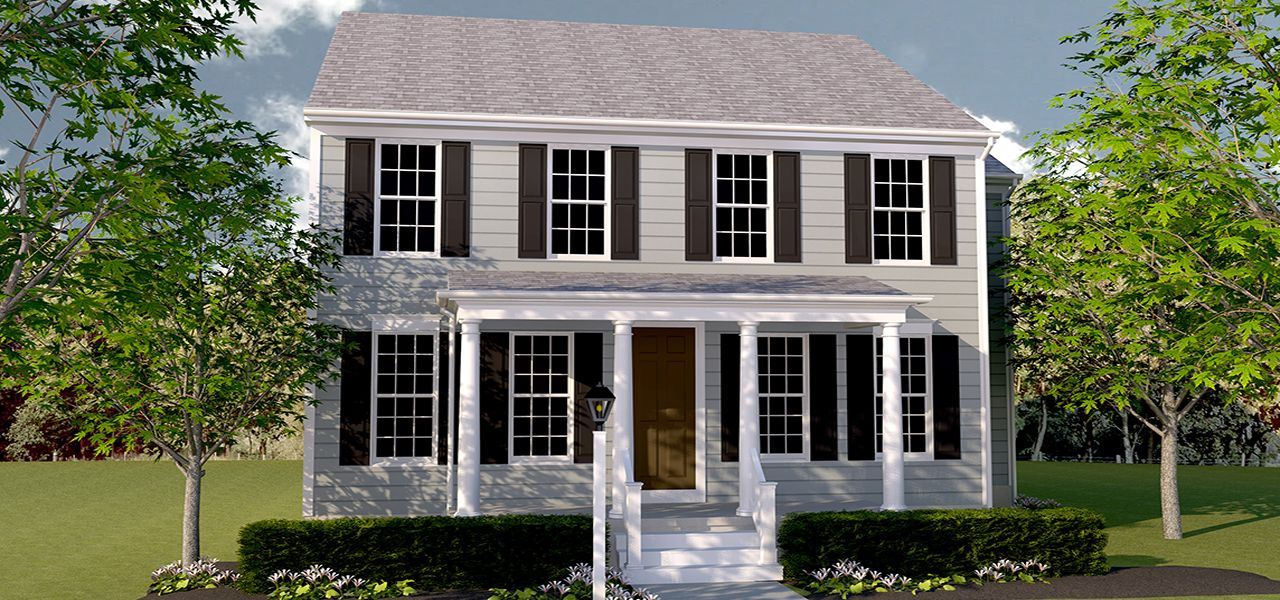 Larkspur home plan by charter homes neighborhoods in walden Home builders central pa