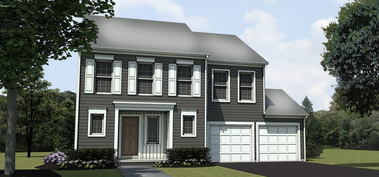 Sinclair home plan by charter homes neighborhoods in Home builders central pa