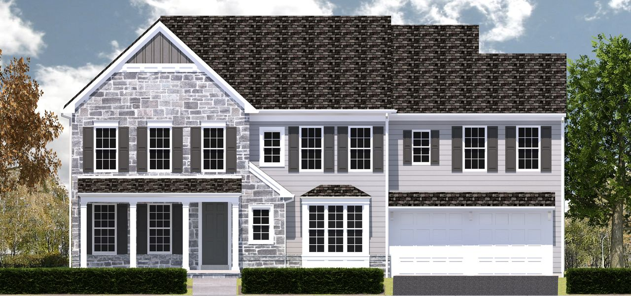 Tarton home plan by charter homes neighborhoods in the point Home builders central pa