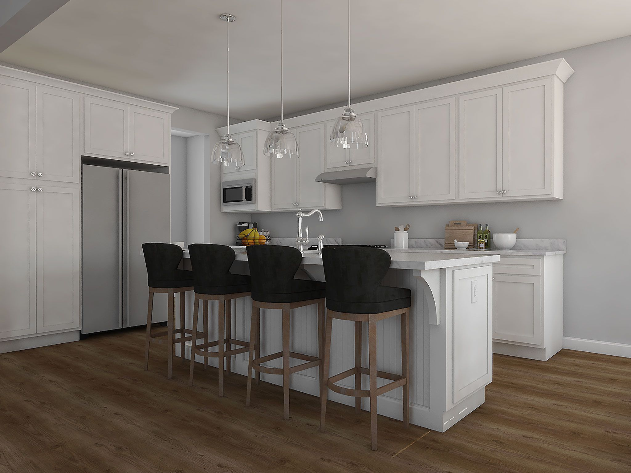 Kitchen featured in the Finch By Charter Homes & Neighborhoods  in Harrisburg, PA
