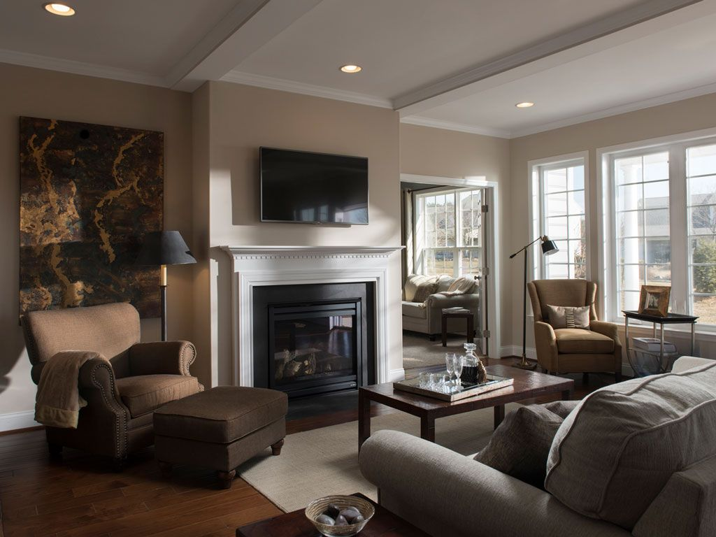 Living Area featured in the Finch By Charter Homes & Neighborhoods  in Harrisburg, PA