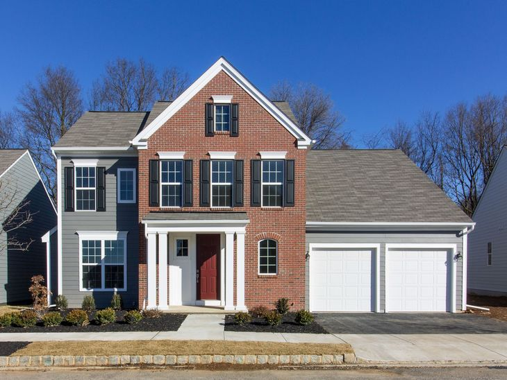 The Harwood:Finished Estate Elevation