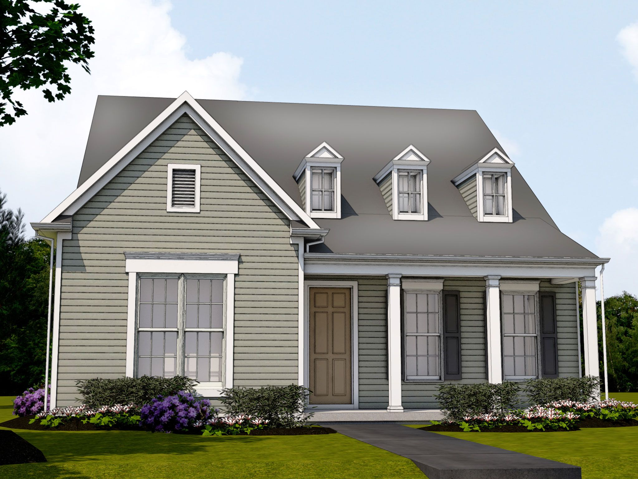 Exterior featured in the Potter By Charter Homes & Neighborhoods  in Harrisburg, PA