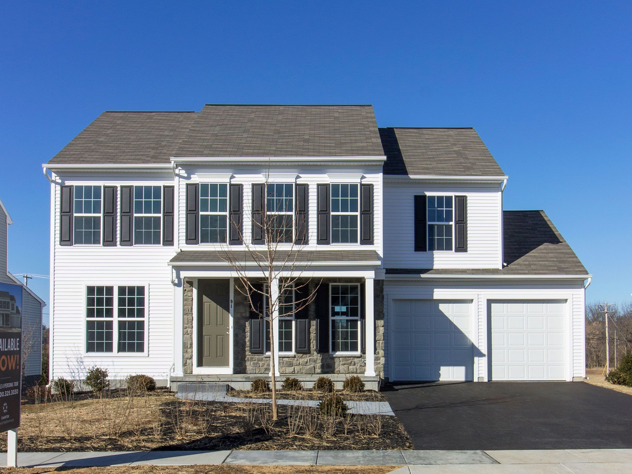 Exterior featured in the Lowell By Charter Homes & Neighborhoods  in Harrisburg, PA