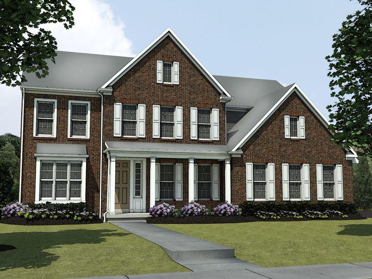 The Forsyth:Estate Elevation Rendering