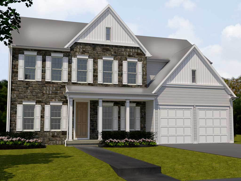 Exterior featured in the Wagner By Charter Homes & Neighborhoods  in Harrisburg, PA
