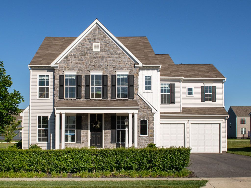 Exterior featured in the Monroe By Charter Homes & Neighborhoods  in Harrisburg, PA