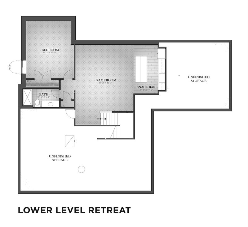 Lower Level Retreat Floor Plan