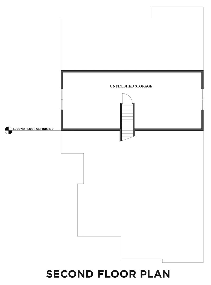 Second Unfinished Floor Plan