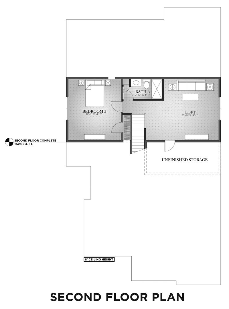 Second Finished Floor Plan