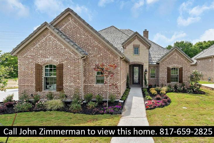 Custom built at 5213 Sendero Drive:Please call John Zimmerman to schedule an appointment 817-659-2825