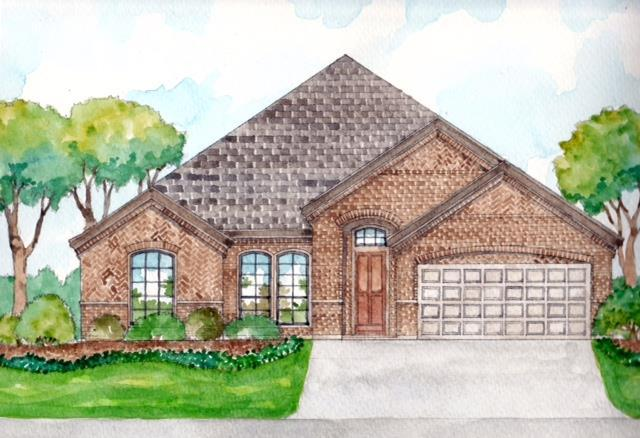 Exterior featured in the Hudson I By Cheldan Homes in Fort Worth, TX
