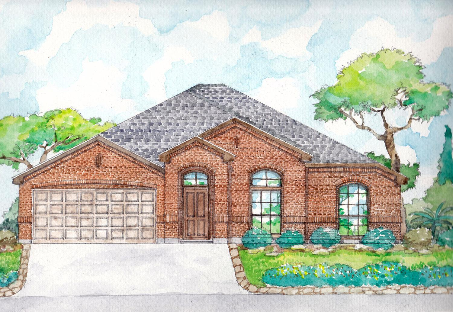 Exterior featured in the McKinley I By Cheldan Homes in Fort Worth, TX