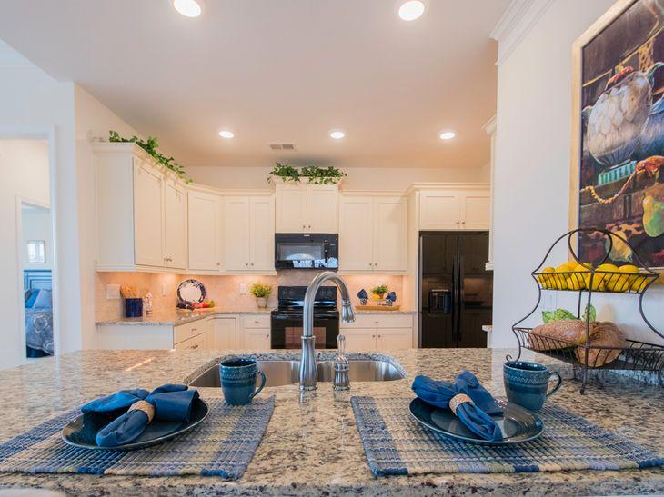 Interior:Breakfast Bar and Kitchen