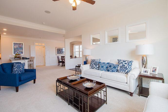 Living Area featured in the Ashewood with Bonus Room and 3rd Bath By The Orchards Group