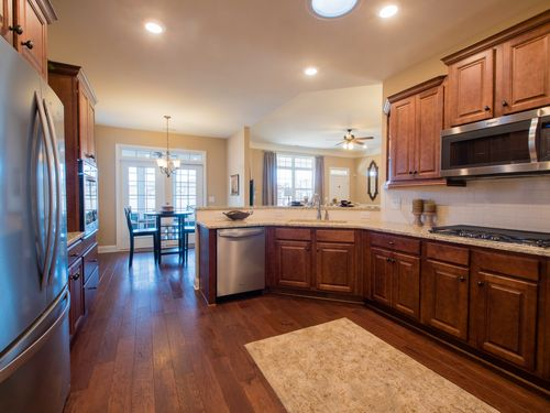 Kitchen-in-The Charleston with Bonus Room and 3rd Bath-at-Orchards of Park Ridge-in-Buford