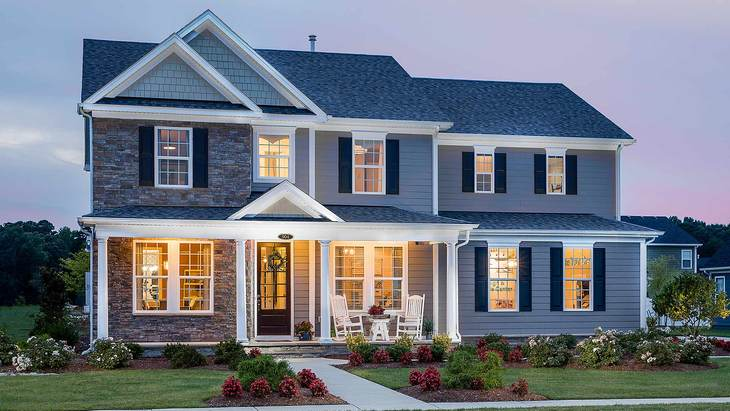 The Roseleigh | New Homes in Highland Reserve