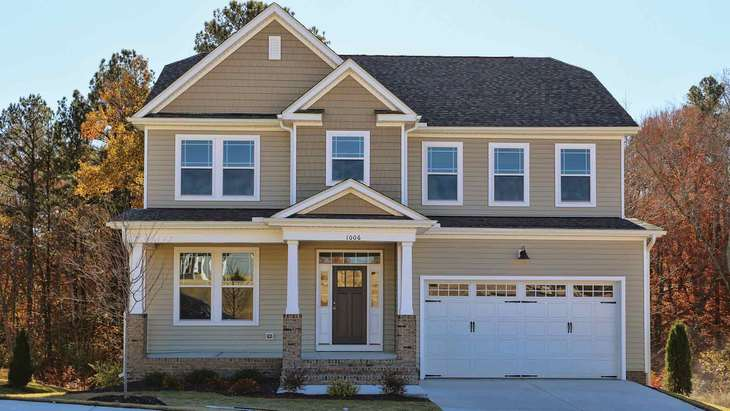 Grace Basement | New Homes in Langston Ridge