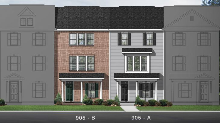 The Ambrosia | New Homes in 5401 North