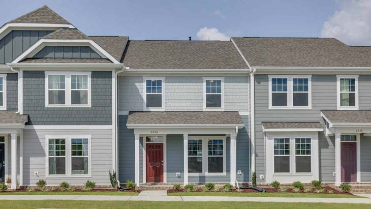 The Lemongrass   New Homes in 5401 North