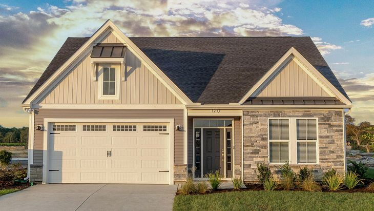 The Coastline | New Home Plan in Bridgewater