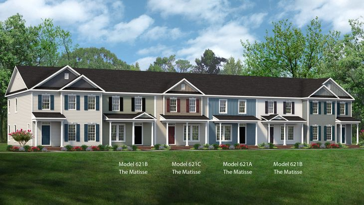 The Matisse | New Homes Myers Point