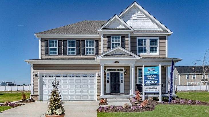 The Hatteras | New Homes in Kingfisher Pointe