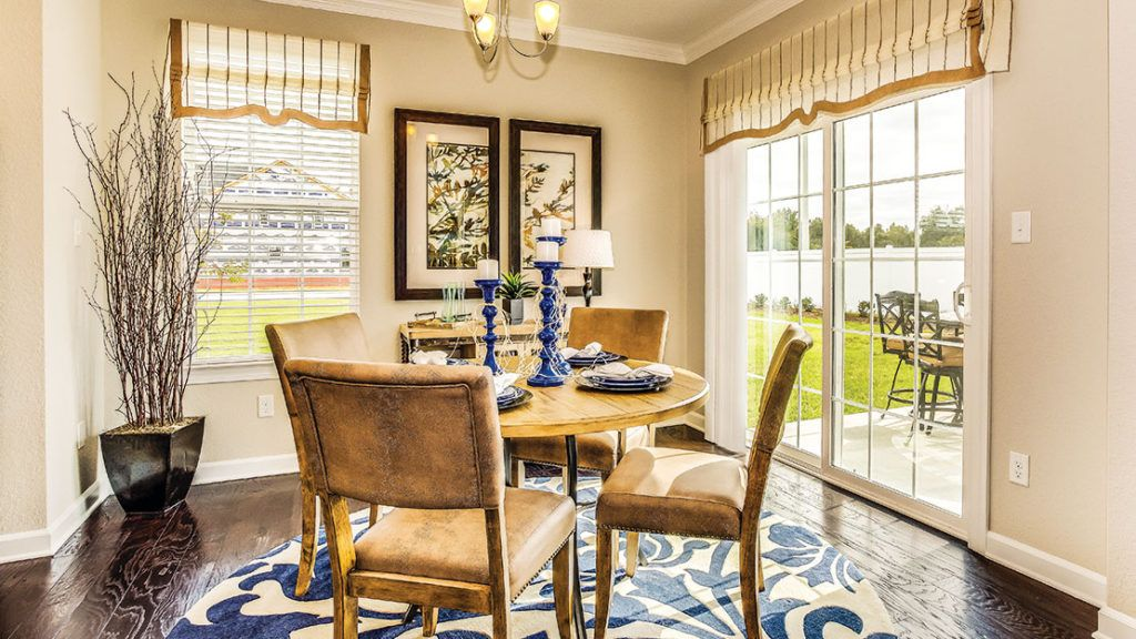 Breakfast-Room-in-The Azalea-at-Waterleigh-in-Moyock