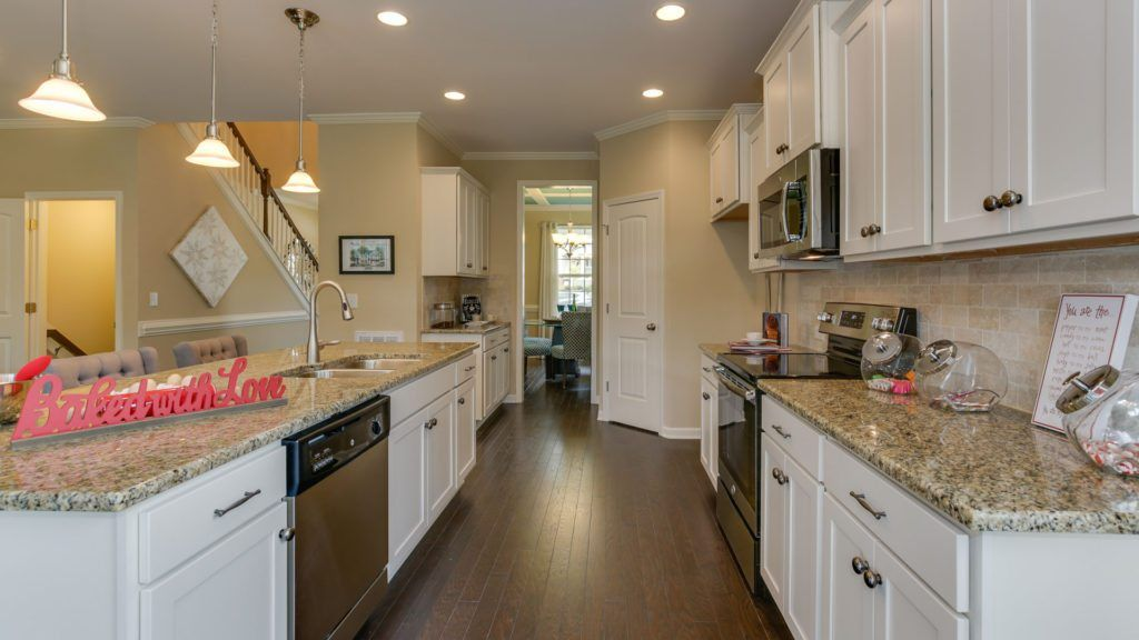 Kitchen-in-Concerto Basement-at-Langston Ridge-in-Knightdale