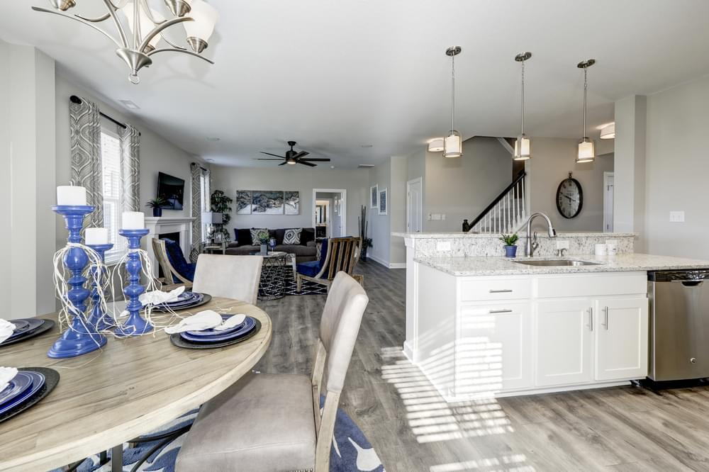 Kitchen featured in The Azalea By Chesapeake Homes in Norfolk-Newport News, VA