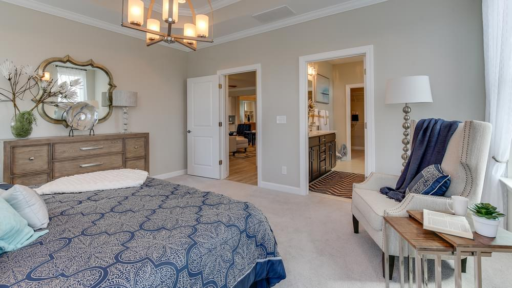 Bedroom featured in The Boardwalk By Chesapeake Homes in Myrtle Beach, SC