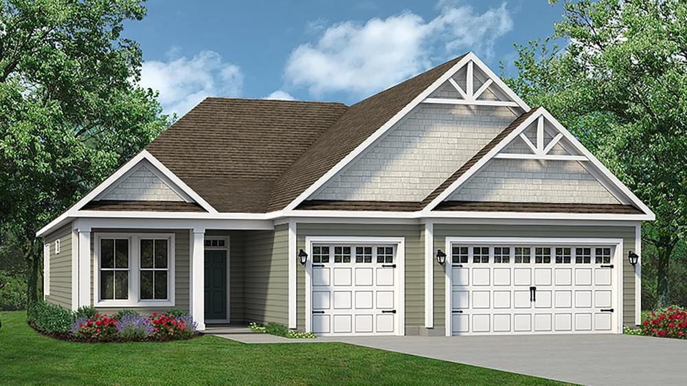 Exterior featured in The Coral Reef By Chesapeake Homes in Myrtle Beach, SC