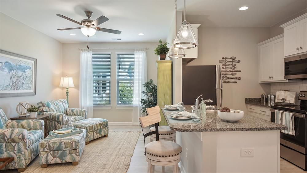 Living Area featured in The Seashore By Chesapeake Homes in Myrtle Beach, SC