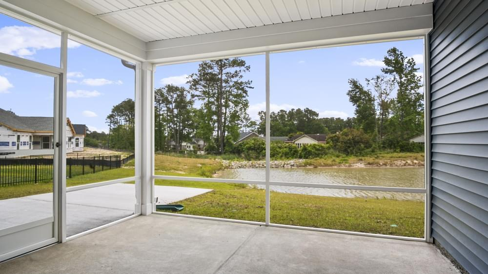 Exterior featured in The Sand Dollar By Chesapeake Homes in Myrtle Beach, SC