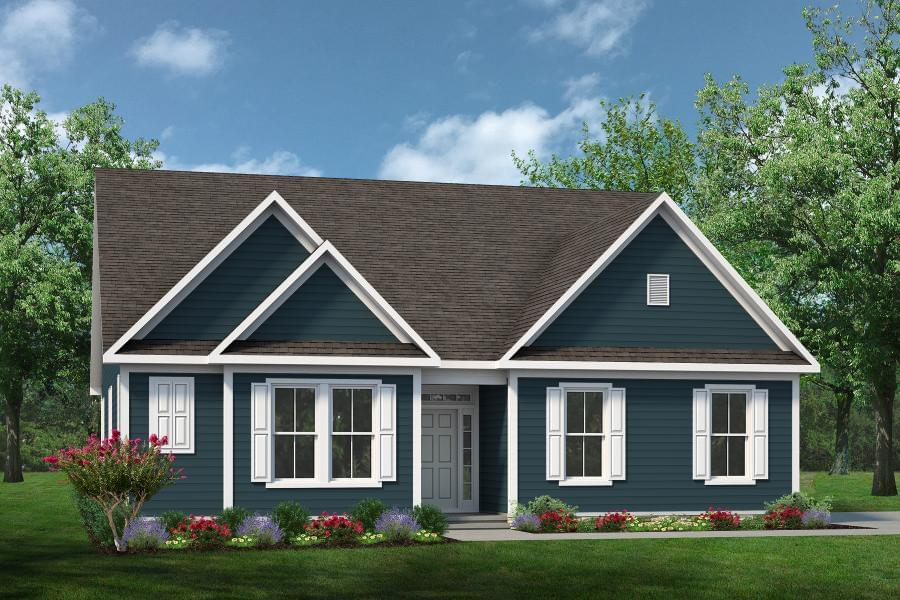 Exterior featured in The Viola By Chesapeake Homes in Norfolk-Newport News, VA