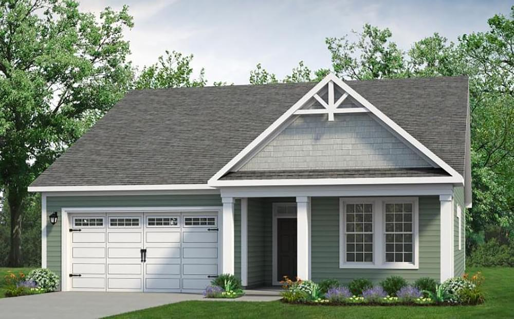 Exterior featured in The Cherry Grove By Chesapeake Homes in Myrtle Beach, SC