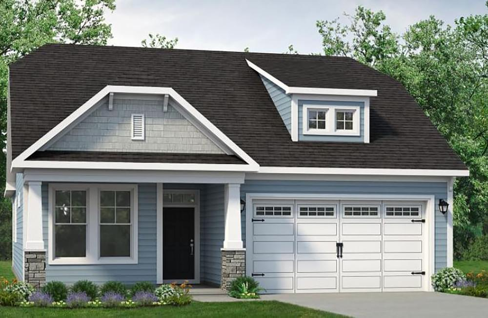 Exterior featured in The Kiawah By Chesapeake Homes in Myrtle Beach, SC