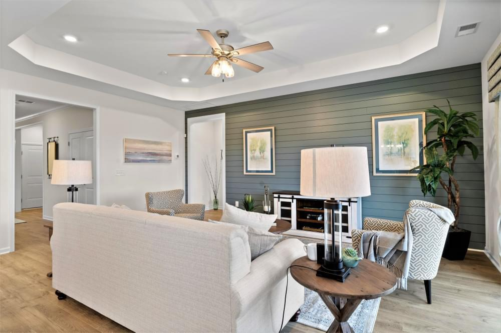 Living Area featured in The Cherry Grove By Chesapeake Homes in Myrtle Beach, SC