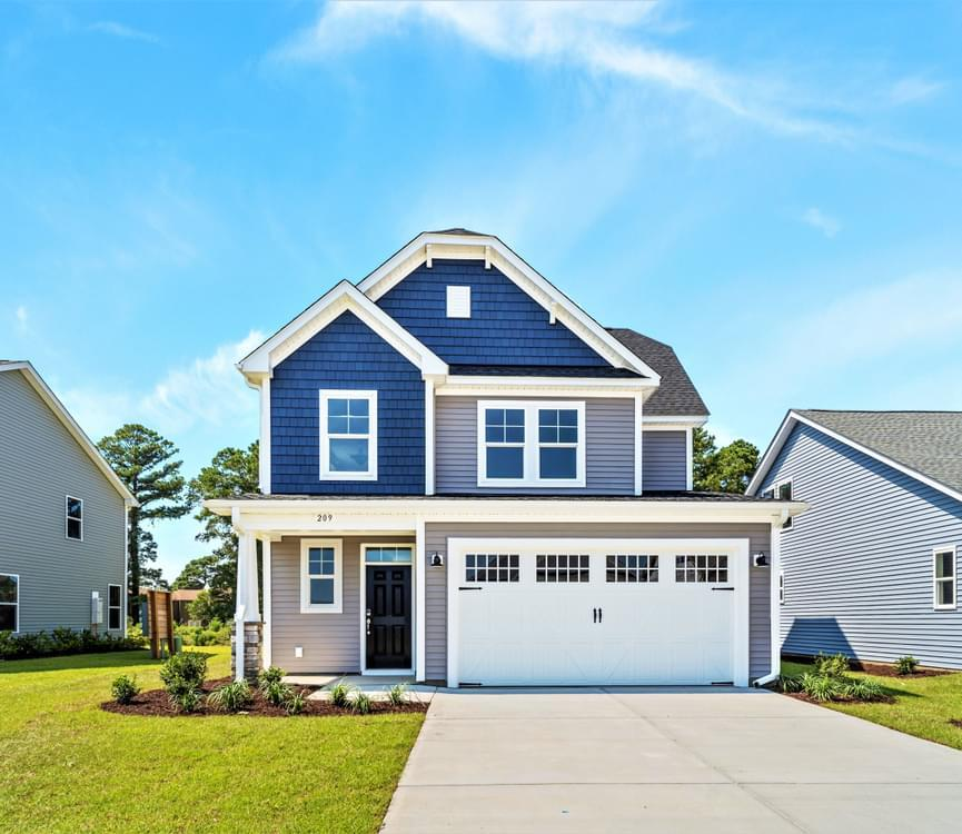 Exterior featured in The Hibiscus By Chesapeake Homes in Myrtle Beach, SC