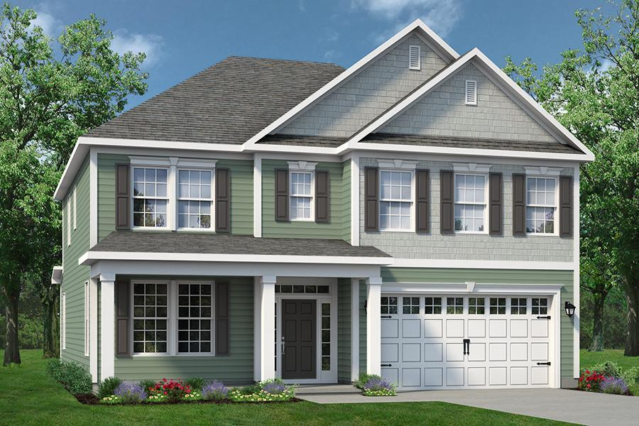 Exterior featured in The Waverunner By Chesapeake Homes in Myrtle Beach, SC