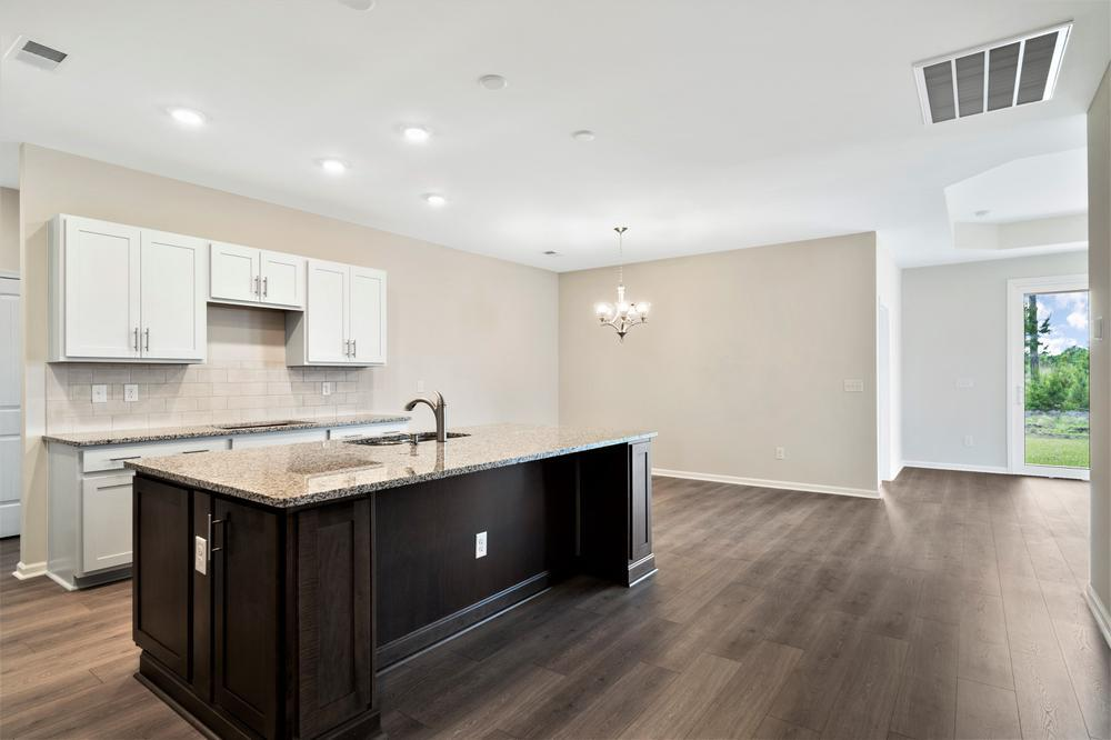 Kitchen featured in The Kiawah By Chesapeake Homes in Myrtle Beach, SC