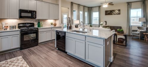 Kitchen-in-Denholm-at-Stillwater Ranch-in-San Antonio