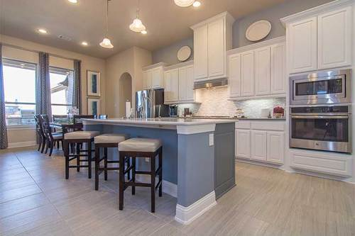 Kitchen-in-Jefferson Plan-at-The Preserve-in-Rockwall