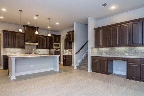 Kitchen-in-Thomson Plan-at-The Preserve-in-Rockwall