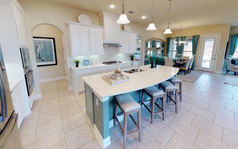 Kitchen-in-Solana-at-Windsong Ranch-in-Prosper
