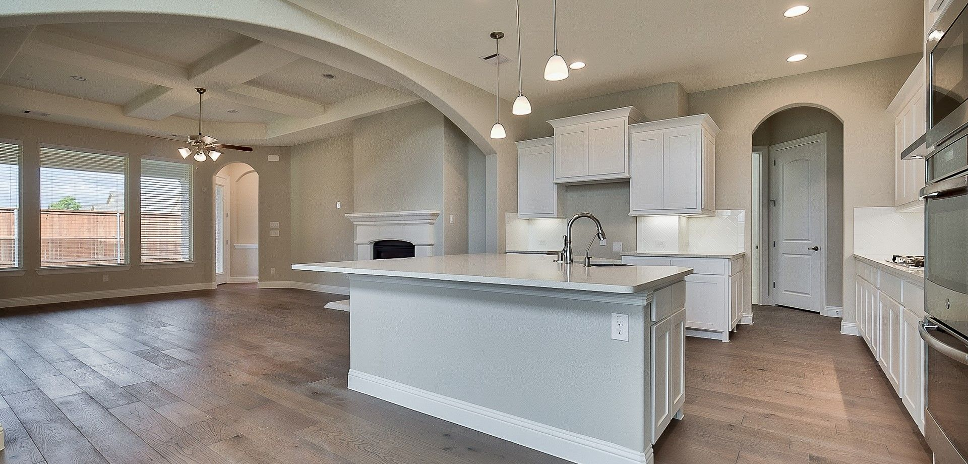 Kitchen featured in the Pershing By Chesmar Homes Dallas in Dallas, TX