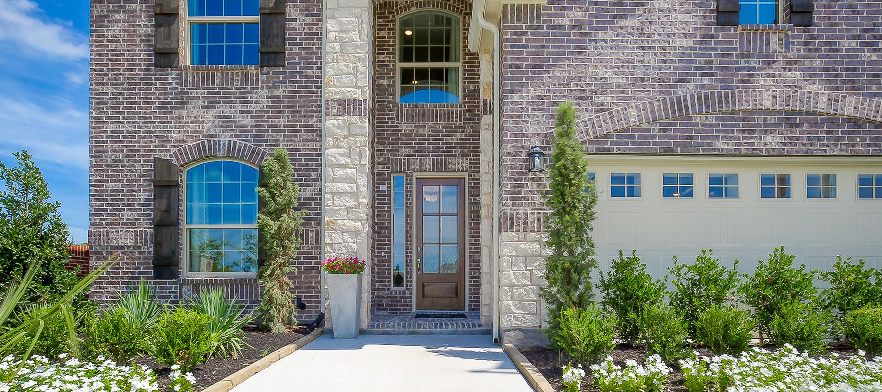 Exterior featured in the Wimberly By Chesmar Homes in Dallas, TX