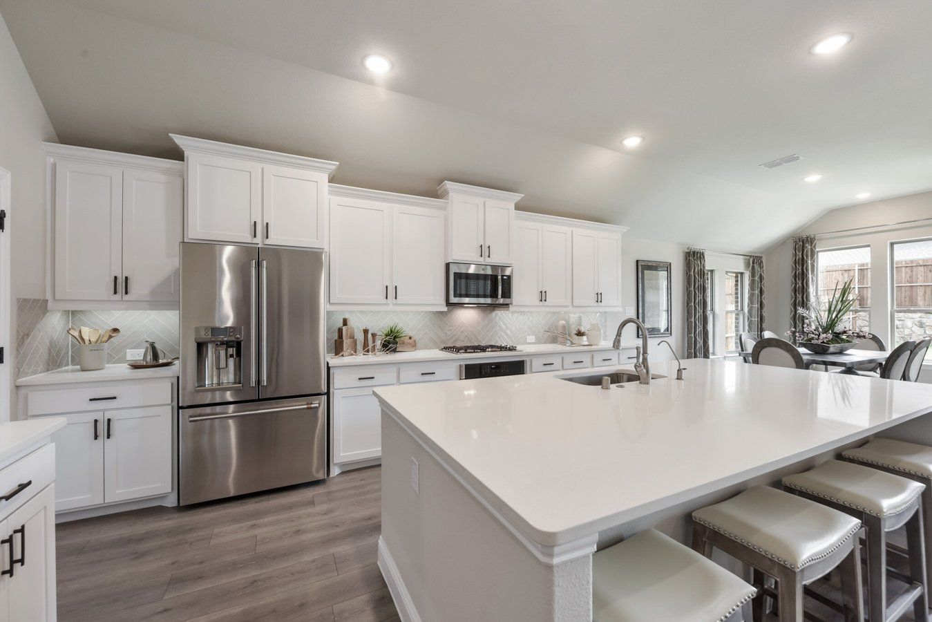 Kitchen featured in the Mansfield By Chesmar Homes Dallas in Dallas, TX