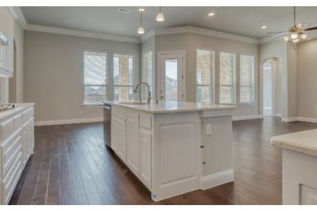 Kitchen-in-Hamilton-at-The Preserve at Rockwall-in-Rockwall