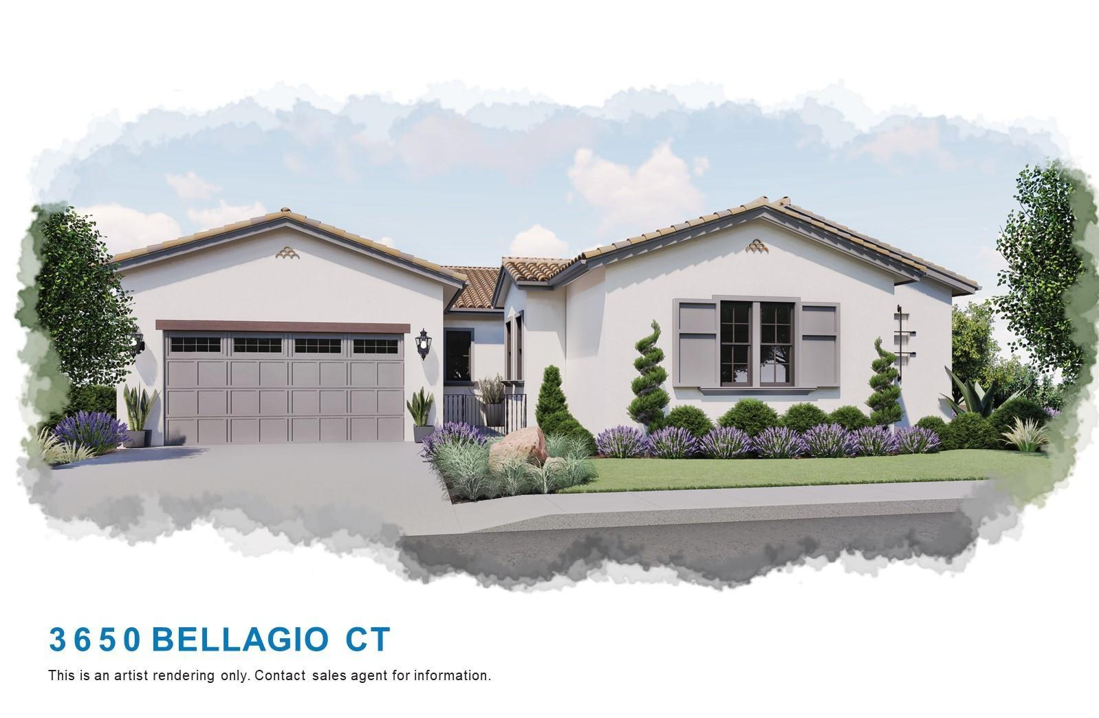 Exterior featured in the Plan 5 By Christopherson Builders in Santa Rosa, CA